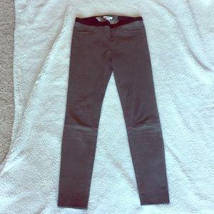 Helmut Lang Leather leggings size 8